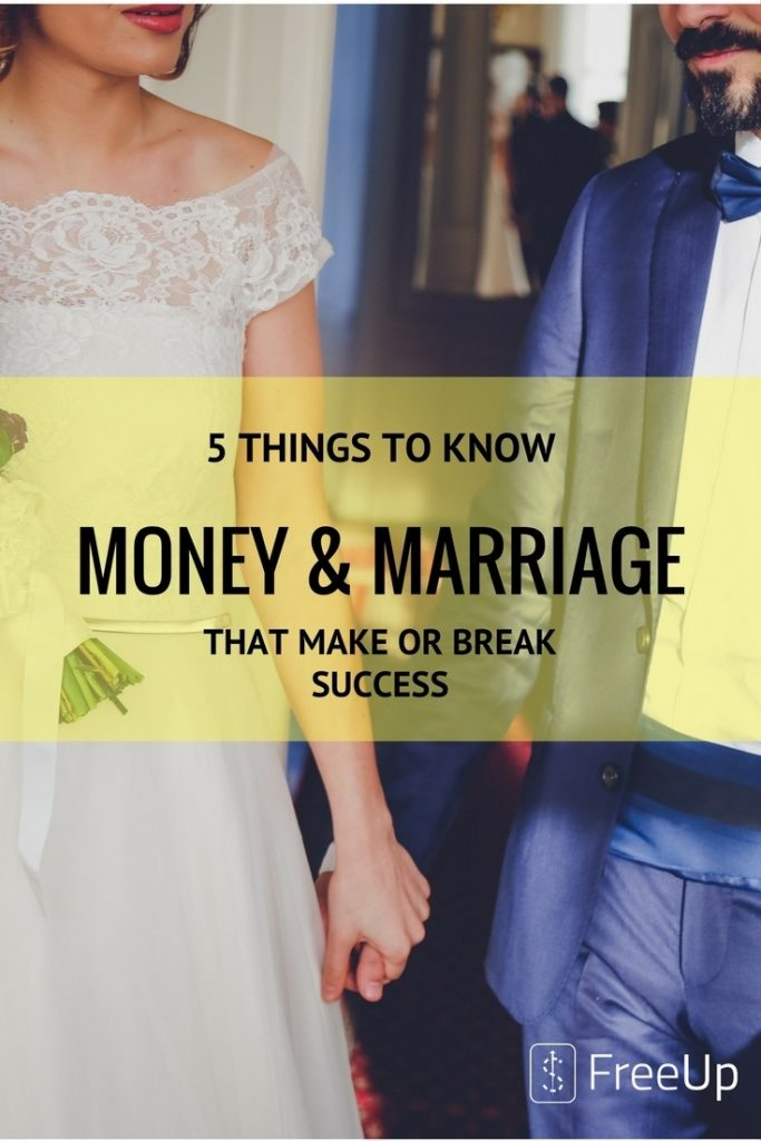 5 THINGS TO KNOW ABOUT MONEY AND MARRIAGE