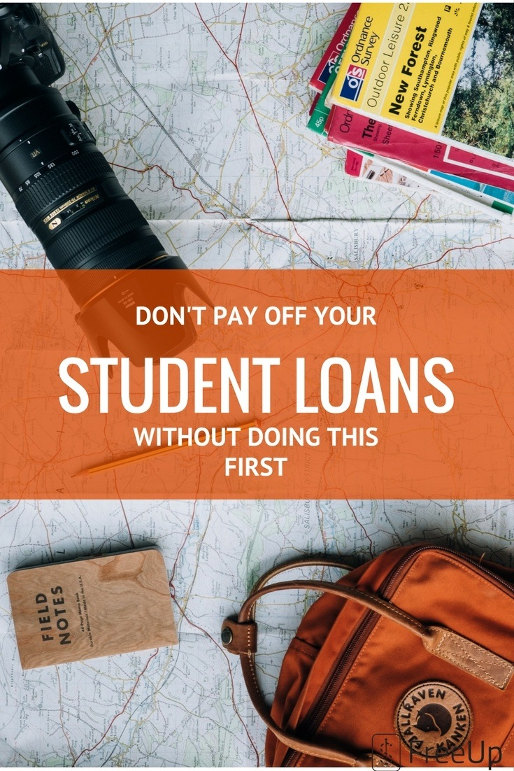 THE ULTIMATE BUDGET ADVICE TO PAY OFF DEBT 2 - Do This First Before Paying Off Your Student Loans