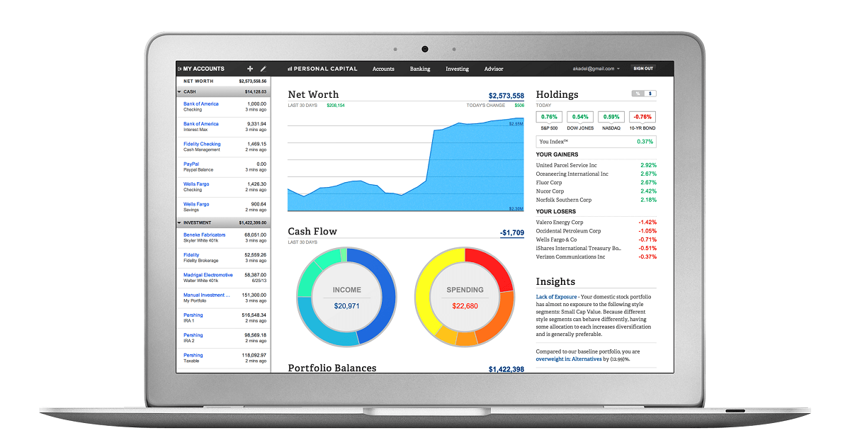 Personal Capital Screenshot 2 - The Secret Weapon You Need To Manage Your Money Better