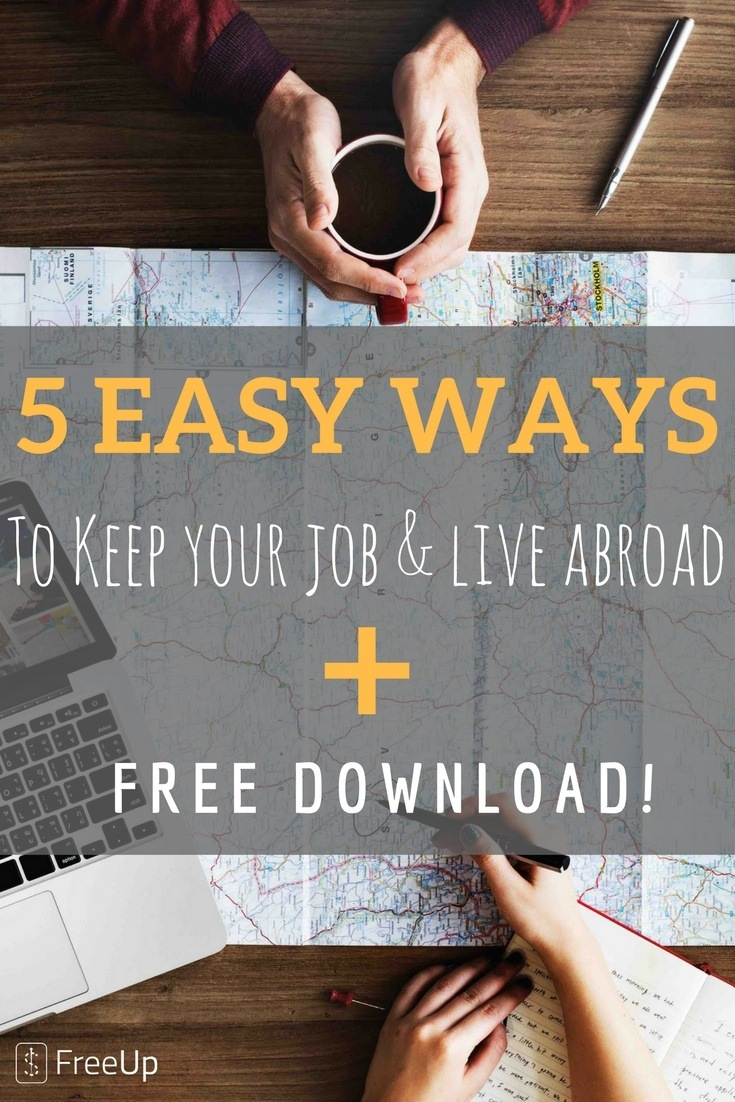 PINTERST IMAGES 1 1 - Keep Your Job and Live Abroad: 5 Easy Ways To Make It Happen