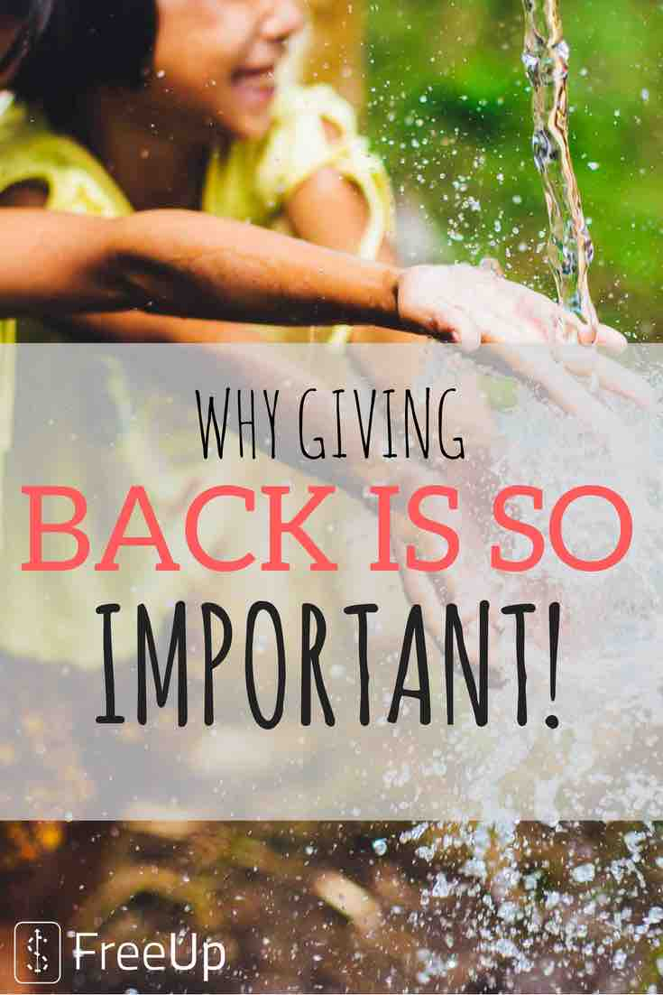 PINTERST IMAGES - Why Giving Back Is Important