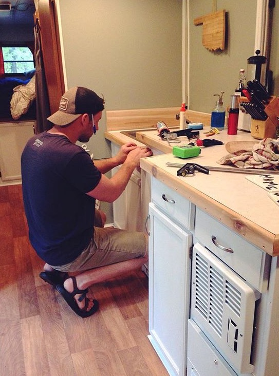Remodeling The Camper - 3 Reasons Why Living In A Camper Was The Best Choice We've Made